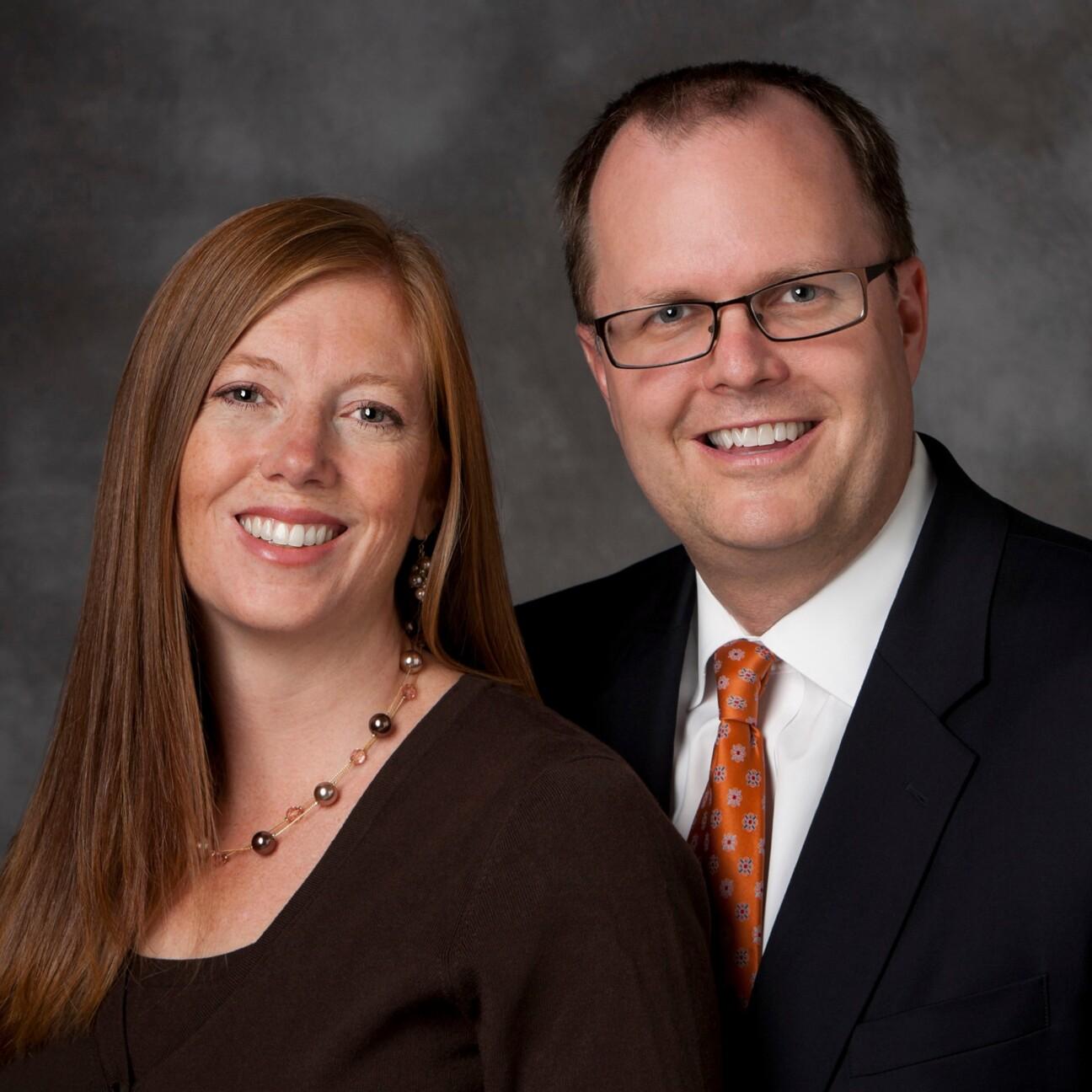 Melinda and Brian Ashton